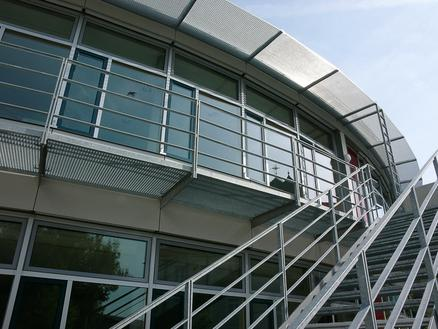 Haager Realschule - Rundbau, Foto: Günster