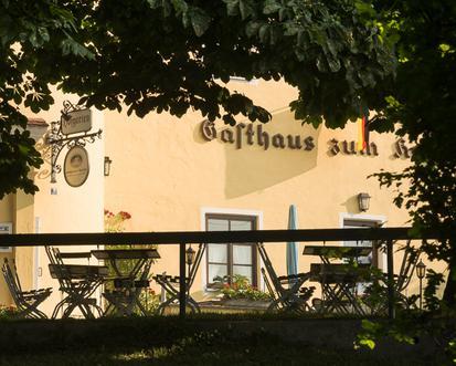 Hofgarten mit Kastanien, Foto: Günster