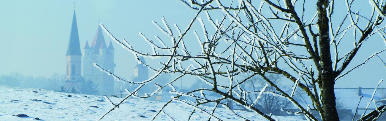 Haag - Türme bei Winter, Foto: Schöll